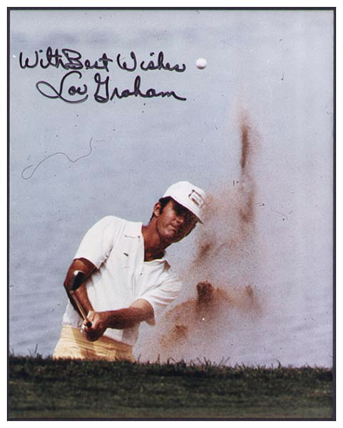 Lou Graham Signed Photograph