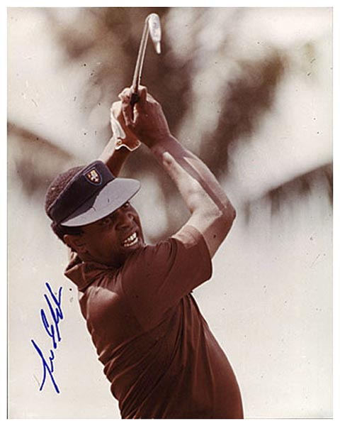 Lee Elder Signed Photograph