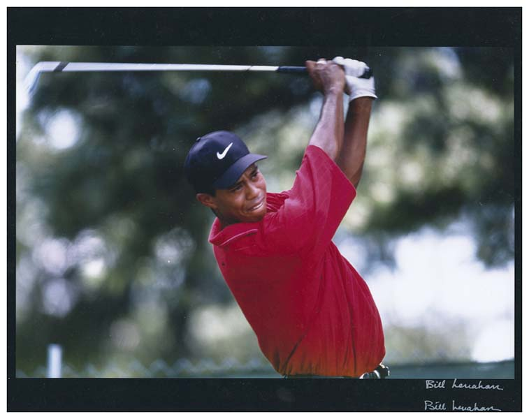 Tiger Woods Original Photograph Signed by Photographer