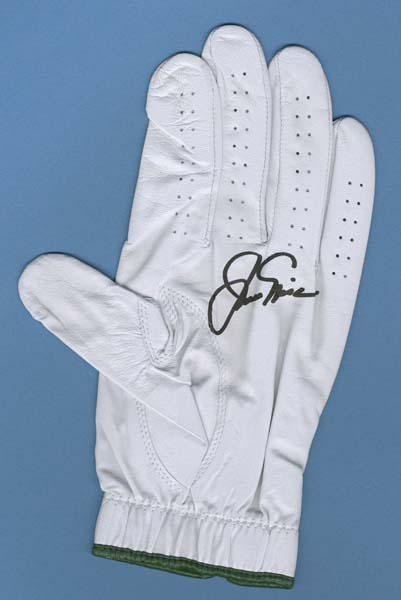 Jack Nicklaus Signed Augusta National Golf Glove