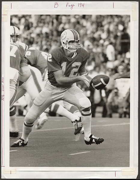 Bob Griese Original Wire Photograph