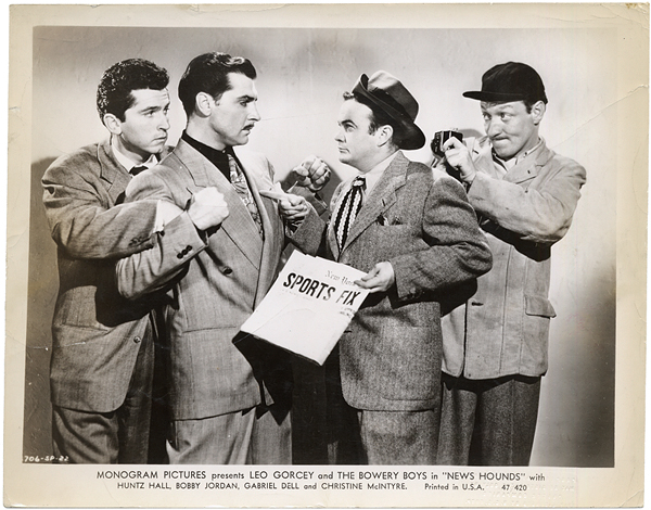 The Bowery Boys East Side Kids Original Photograph
