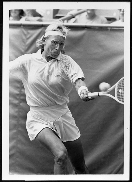 Martina Navratilova 1992 US Open Original Photograph