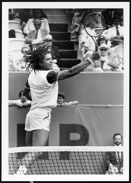 Yannick Noah 1983 French Open Original Photograph