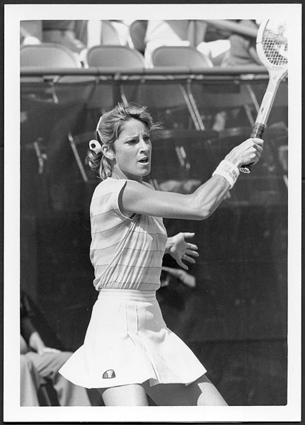 Chris Evert 1982 US Open Original Photograph