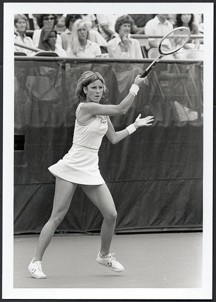 Chris Evert 1980 US Open Original Photograph