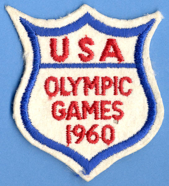 Original 1960 Summer Olympic Games Official USA Judges Patch