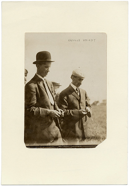 Orville and Wilbur Wright Original Photograph