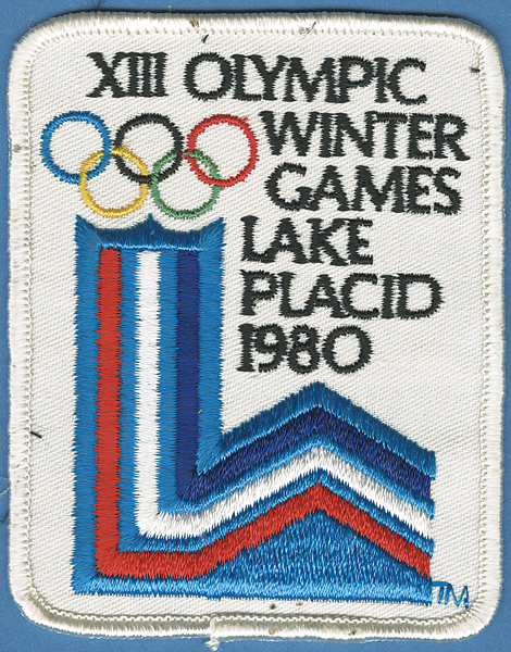 1980 Winter Olympics Participant Patch