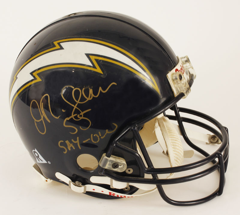 newest f0d30 147a0 Lot Detail - Junior Seau Signed Game Issued San Diego ...