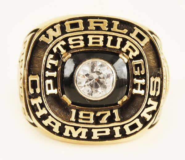 1971 Roberto Clemente Pittsburgh Pirates World Championship Ring