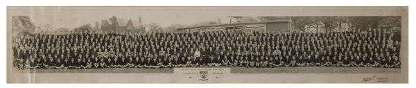1957 John Lennon Impressive Panoramic High School Class Photo