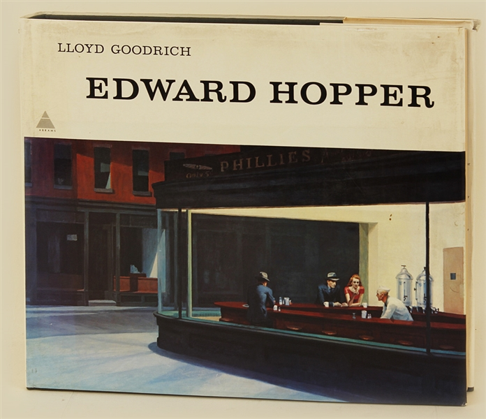 Edward Hopper by Lloyd Goodrich (HC) With 246 Illustrations (16.5 X 13.5)