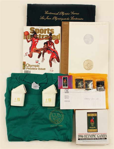 1996 Summer Olympics Opening Ceremony Tickets and Gift Bag