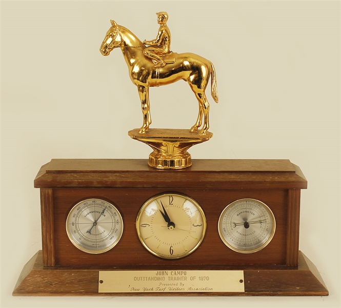 John Campo Horse Racing Trainer of the Year Award (1970)