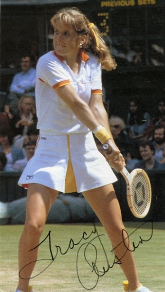 Tracy Austin Signed Magazine Picture