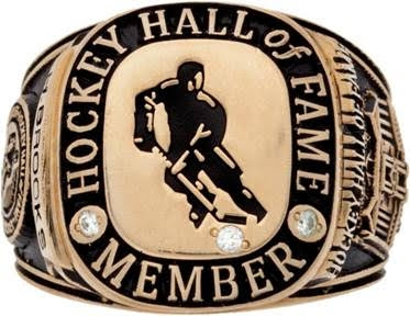 2006 Herb Brooks Hockey Hall Of Fame Induction Ring