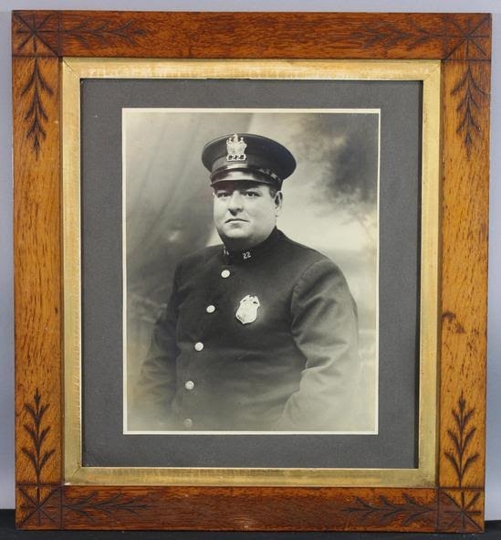 Vintage NYC Police Officer Photograph c. 1920's (11 X 14)