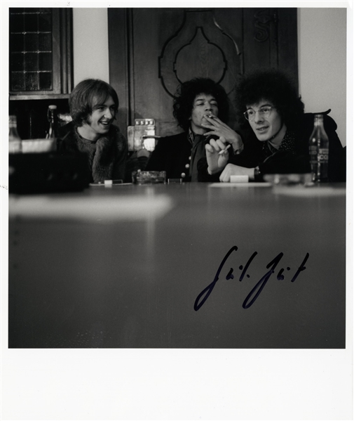 Jimi Hendrix Original Photograph Signed by Photographer