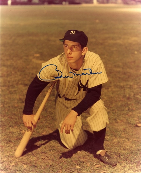 Billy Martin Signed Photograph