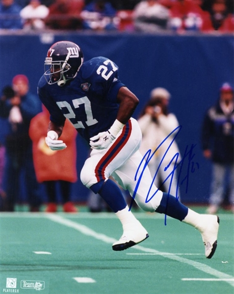 Rodney Hampton (NY Giants) Signed Photograph