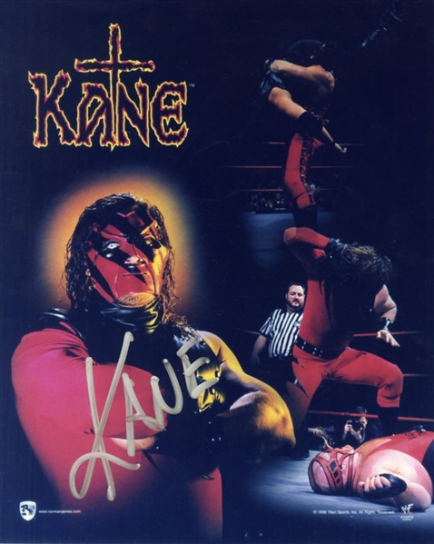 Kane (Glenn Thomas Jacobs) Signed Photograph