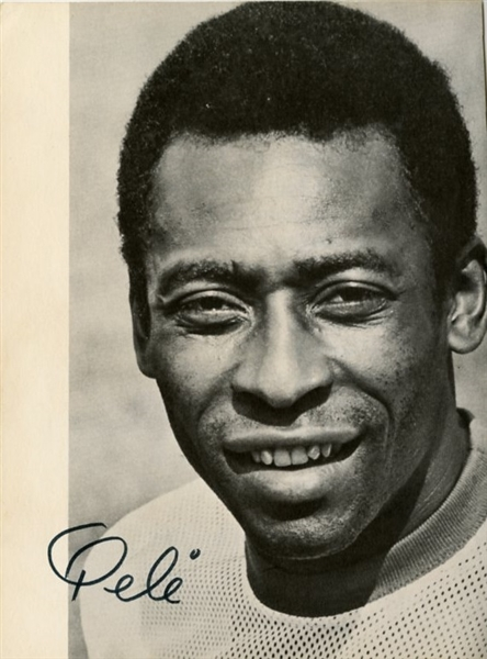 Pele Signed Photographic Picture