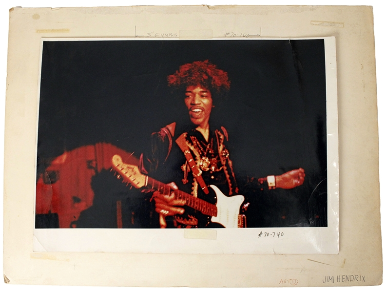 "Jimi Hendrix ""Electric Ladyland"" Album Outtake Proof"