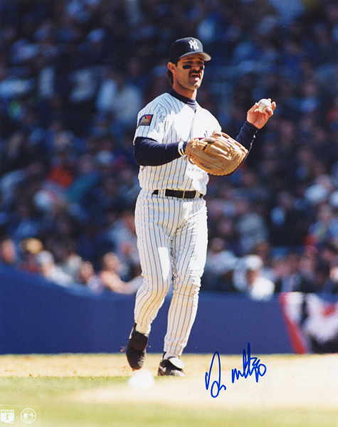 Don Mattingly Signed Photograph