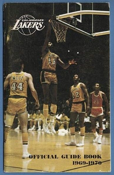 1969-1970 Los Angeles Lakers Yearbook