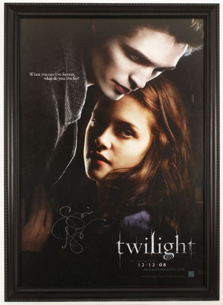 2008 Twilight Original Movie Poster Signed by Author Stephanie Meyer
