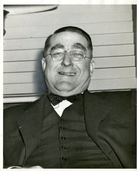Branch Rickey Original Wire Photograph