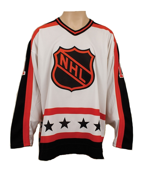 Mark Messier Signed 1988-89 40th Anniversary NHL All-Star Game Jersey (1 of 30 CCM)