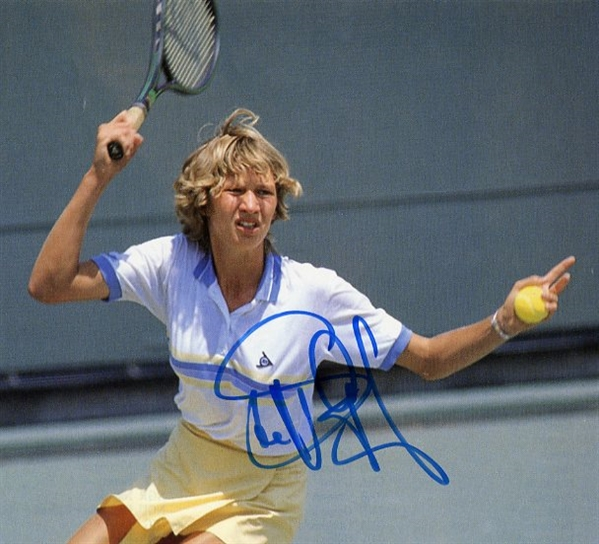 Steffi Graf Signed Magazine Picture