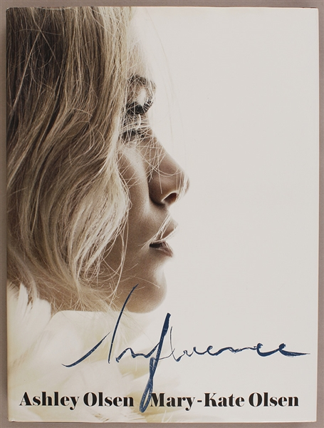 Mary-Kate and Ashley Olsen Signed Influence Book