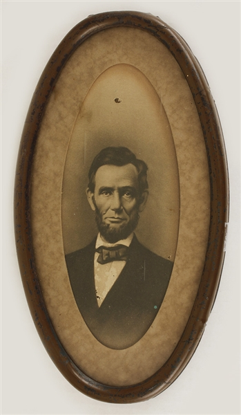 Antique Rotogravure Print of President Abraham Lincoln