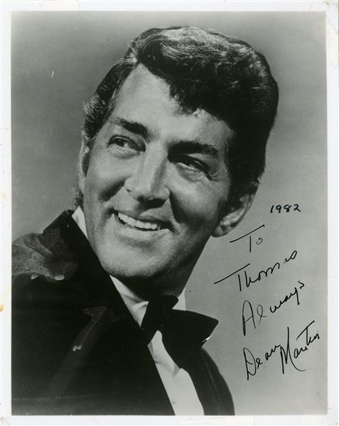 Dean Martin Signed Photograph